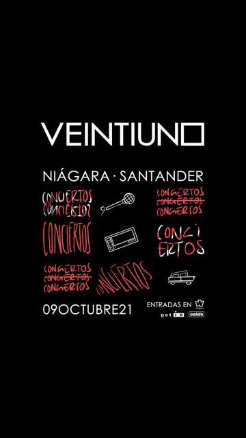 Concierto de Veintiuno en Santander